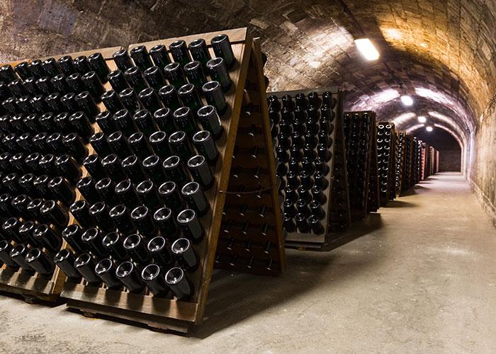 Vente de champagne à Grenoble